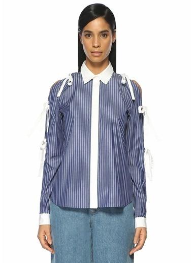 Sandy Liang Gömlek Mavi